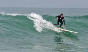 Single-fins at Zarautz on the Spanish Basque Coast